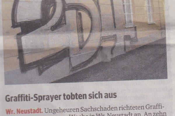 Graffiti-Sprayer tobten sich aus