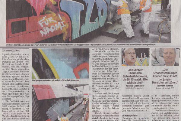 Hochsaison für illegale Spray